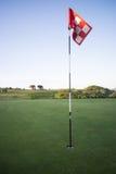 Bandeira do golfe no kernow britânico de Cornualha Inglaterra foto de stock