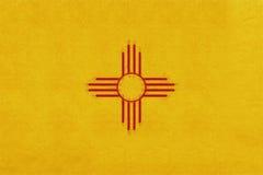 Bandeira do Grunge de New mexico ilustração stock