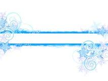 Bandeira do grunge do inverno Imagem de Stock Royalty Free
