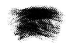 Bandeira do Grunge isolada Fotos de Stock