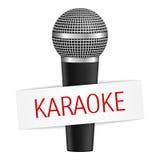 Bandeira do karaoke Foto de Stock Royalty Free