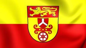Bandeira do Landkreis de Gottingen, Alemanha Foto de Stock Royalty Free