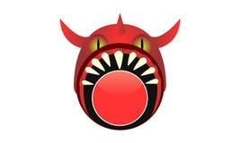 Bandeira do monstro Imagem de Stock