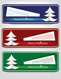Bandeira do Natal Imagens de Stock