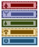Bandeira do Natal Imagens de Stock Royalty Free