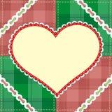Bandeira do Natal, molde Imagem de Stock