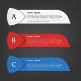 Bandeira do negócio para o design web, criativa para o Web site, ilustração do fundo do molde do vetor Imagens de Stock Royalty Free