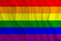 Bandeira do orgulho Fotografia de Stock Royalty Free