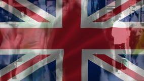 Bandeira do passeio BRITÂNICO e dos povos filme