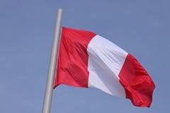 Bandeira do Peru Imagem de Stock
