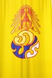 Bandeira do rei tailandês Foto de Stock
