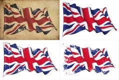 Bandeira do Reino Unido ilustração royalty free