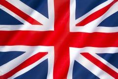 Bandeira do Reino Unido Imagens de Stock Royalty Free