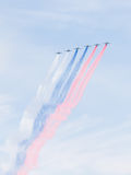 Bandeira do russo SU-25 pintada Fotos de Stock Royalty Free