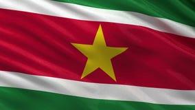 Bandeira do Suriname - laço sem emenda ilustração stock