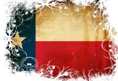 Bandeira do Texan Foto de Stock Royalty Free