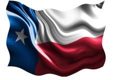 Bandeira do Texan Fotografia de Stock Royalty Free