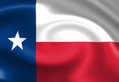 Bandeira do Texan Foto de Stock