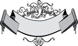 Bandeira do Victorian ilustração do vetor