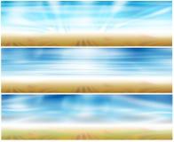 Bandeira do Web do jogo 3 # 2 Foto de Stock