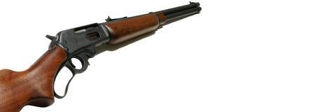 Bandeira do Web do rifle imagens de stock royalty free