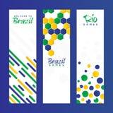 Bandeira do Web site ajustada para o conceito dos esportes Fotos de Stock