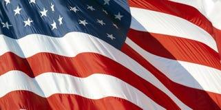 Bandeira dos E.U. fotografia de stock