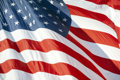 Bandeira dos E.U. Foto de Stock Royalty Free