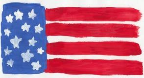 Bandeira dos E.U. Foto de Stock