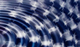 Bandeira dos E.U. ilustração stock