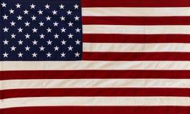 Bandeira dos E.U. da tela Imagens de Stock