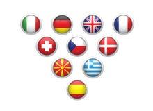 Bandeira dos estados Imagem de Stock