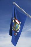 Bandeira dos Estados de Nova Iorque ilustração stock