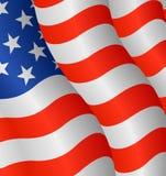 Bandeira dos Estados Unidos Fotografia de Stock Royalty Free