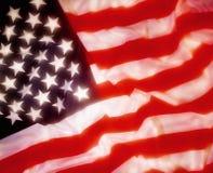 Bandeira dos Estados Unidos da América Imagens de Stock
