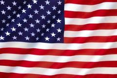 Bandeira dos Estados Unidos da América Fotografia de Stock Royalty Free