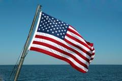 Bandeira dos Estados Unidos da bandeira Foto de Stock