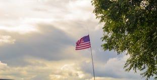 Bandeira dos EUA Fotografia de Stock Royalty Free