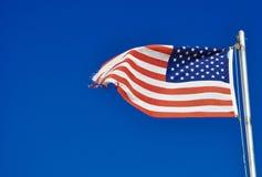 Bandeira dos EUA Fotografia de Stock