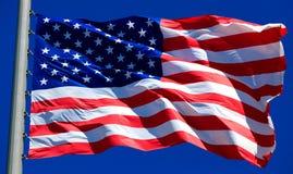 Bandeira dos EUA Imagens de Stock Royalty Free