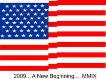 Bandeira dos EUA Fotos de Stock