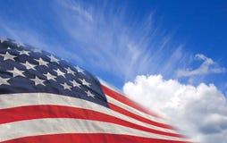 Bandeira dos EUA imagens de stock
