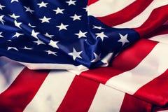 Bandeira dos EUA Dia da Independência, Dia do Trabalhador, dia de veteranos Imagem de Stock
