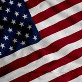Bandeira dos EUA do cetim Ilustração Stock