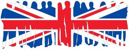 Bandeira dos povos Imagens de Stock