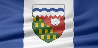 Bandeira dos territórios noroestes Fotografia de Stock Royalty Free