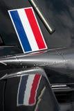 Bandeira e reflexão Imagem de Stock Royalty Free
