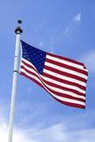 Bandeira em um Pólo Foto de Stock