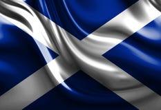 Bandeira escocesa ilustração royalty free
