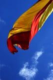 Bandeira espanhola Fotografia de Stock Royalty Free